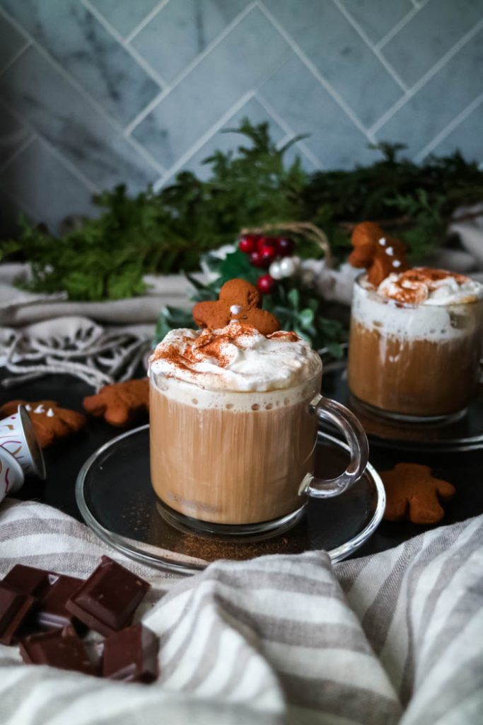 Food & Drink :: Festive Nespresso Whipped Cream Mocha