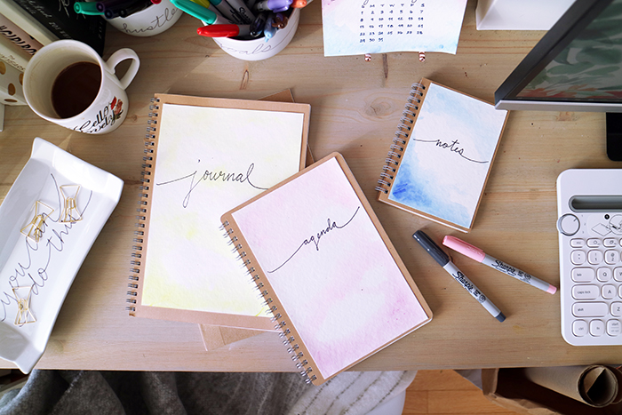 2017 DIY Desk Accessories Journals Agenda Sharpie