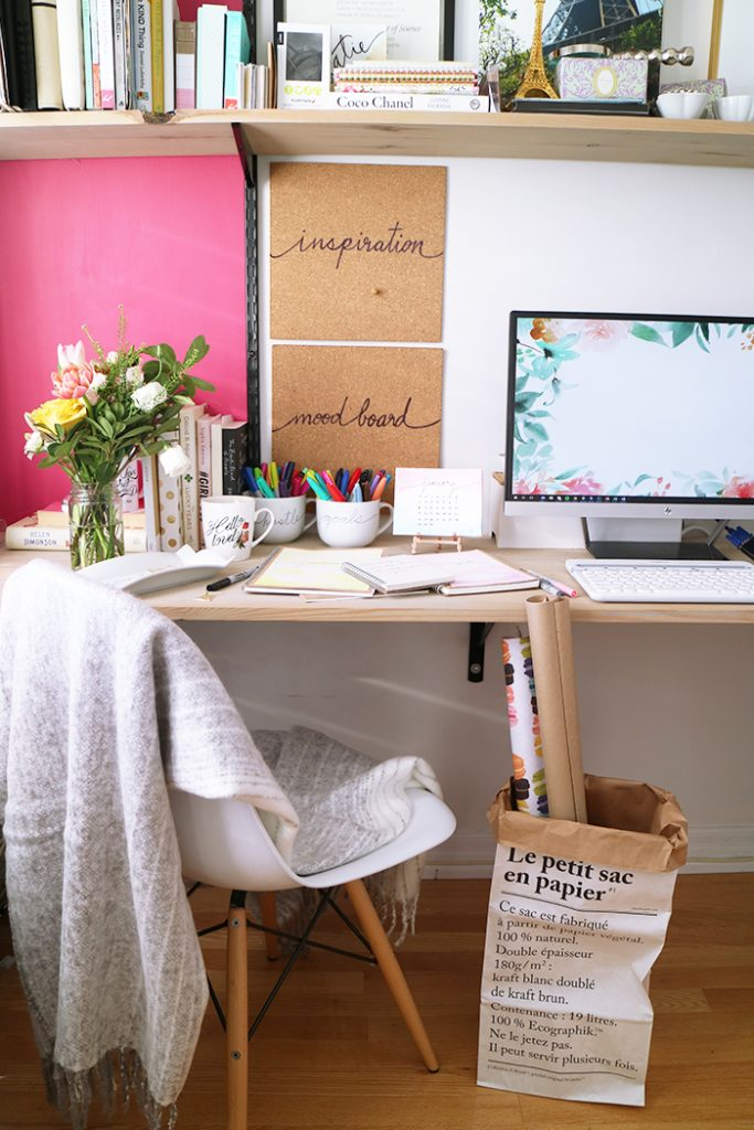 DIY :: Sharpie Watercolour Journals and Desk Accessories