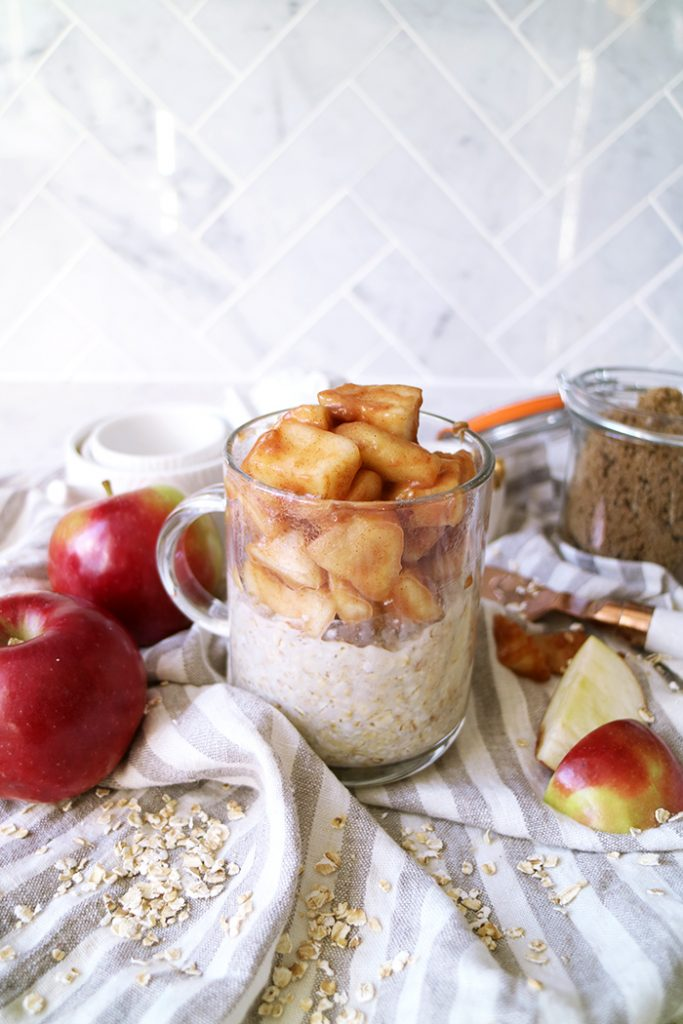 Food & Drink :: Warm Apple Pie Oatmeal