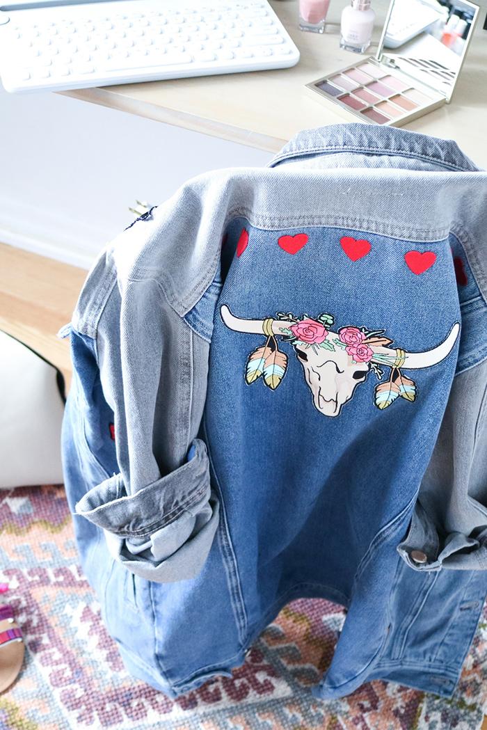 Diy Outfit Patchwork Denim Jacket My Little Secrets