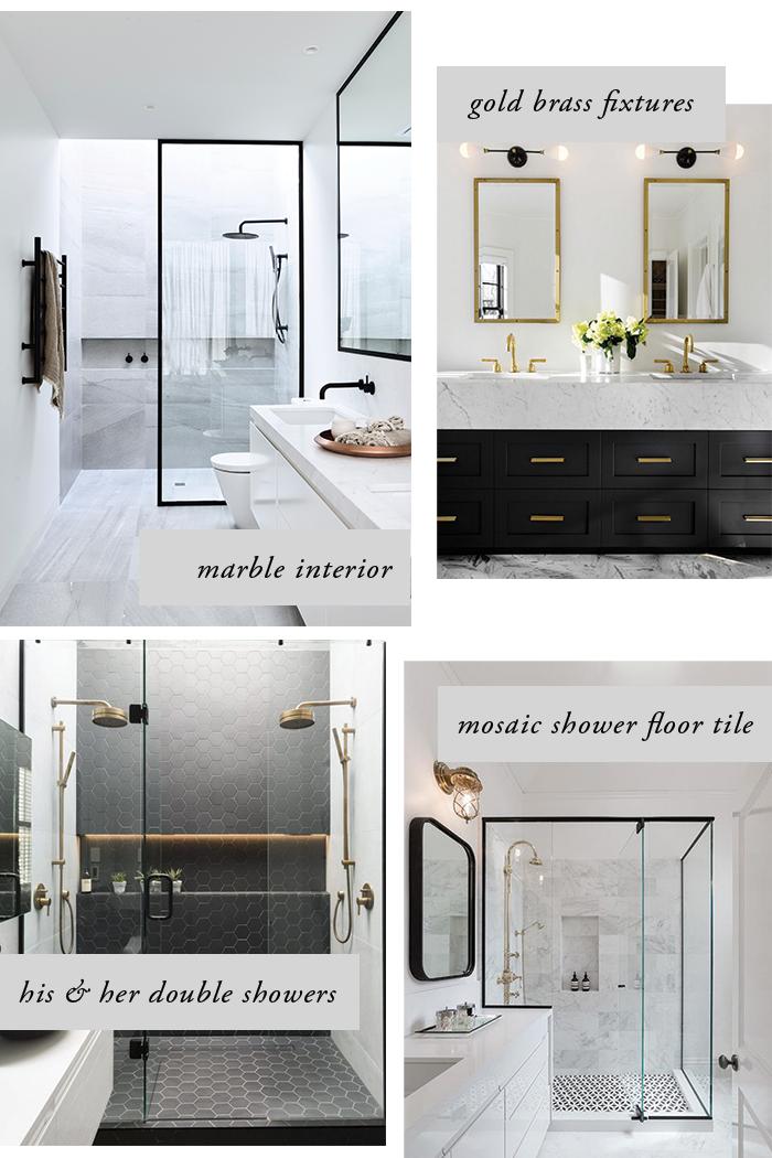 Home master bathroom renovation inspiration my little for Bathroom renovation inspiration