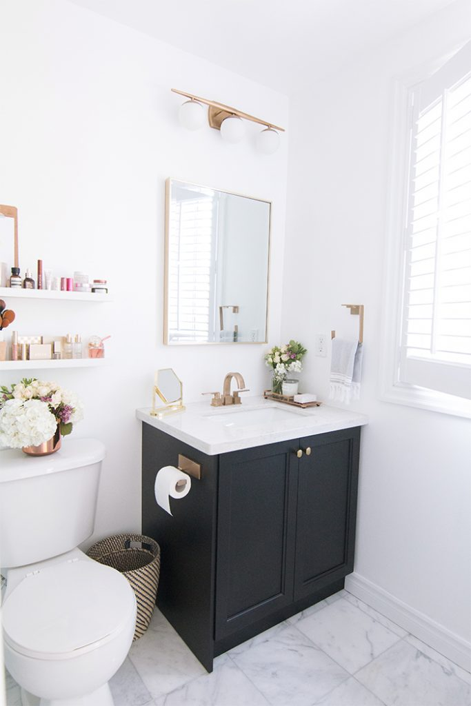 Home :: Our Master Bathroom Reveal