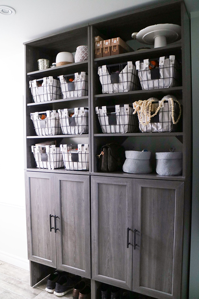 Home Functional Mudroom Renovation With Home Depot And