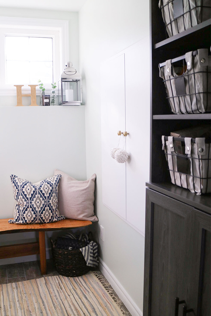 Home :: Functional Mudroom Renovation with Home Depot and ClosetMaid ...