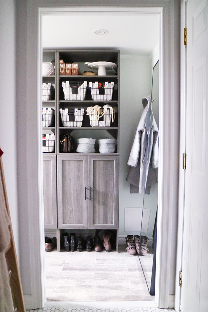 There Were Three Must Haves For Our New Mudroom: