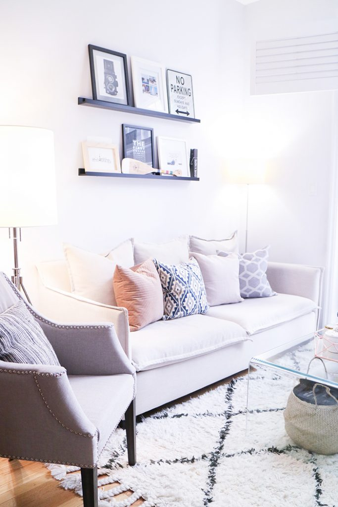 Home ::  SMART Living Room Updates with LED Lighting