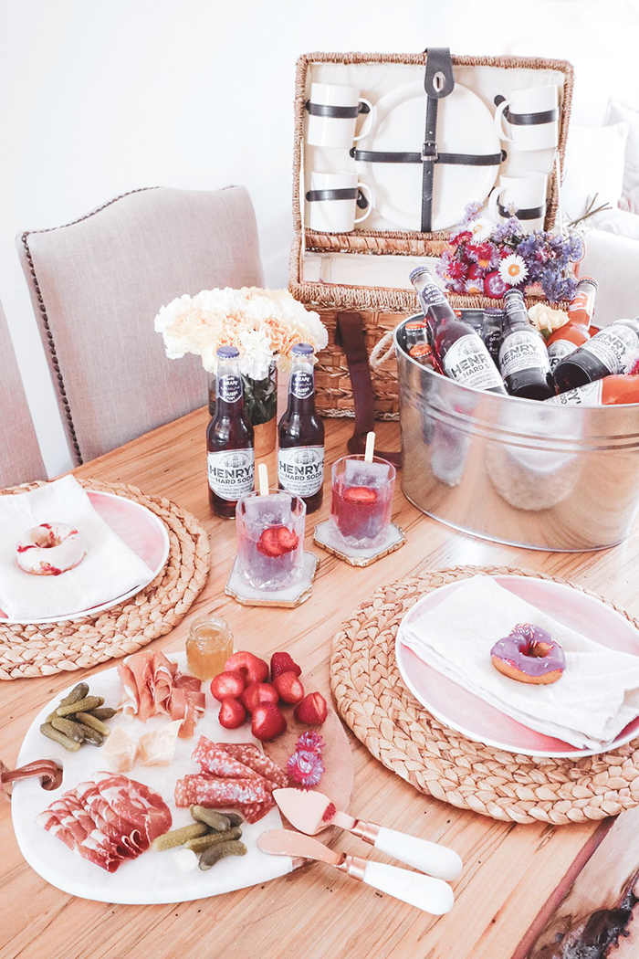 food drink summer girls night entertaining ideas my little